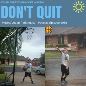MVP #058 – DISASTER! - Recovery When Everything Goes Wrong – Mark Phipps – Mocha Vegan Performance Podcast